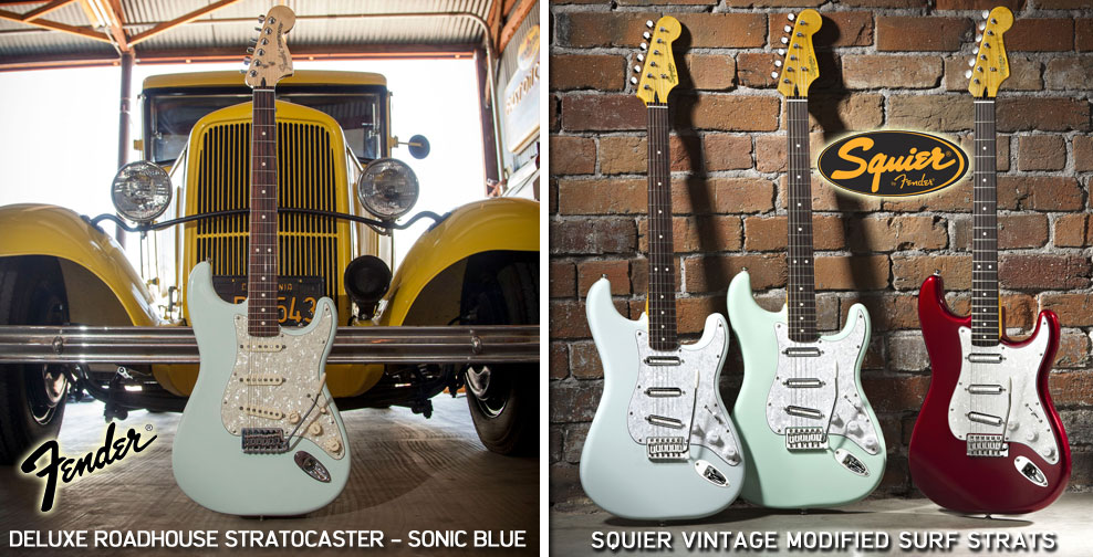 Fender Electric Guitars